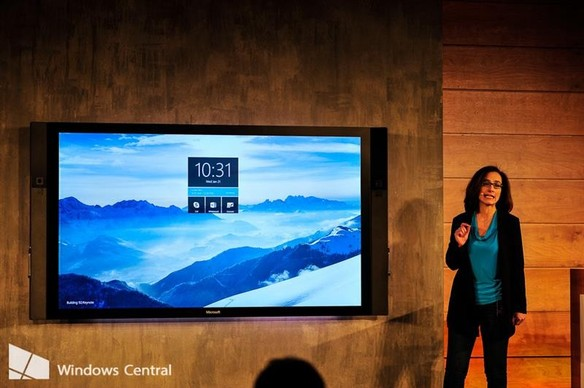 microsoft-surface-hub-announce